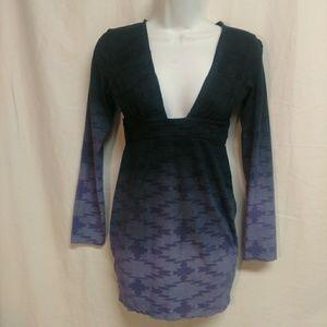 Stylestalker Ombre Long Sleeved Tunic Top. Size 6